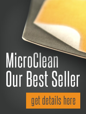 Microfiber screen cleaners, the best selling MicroClean